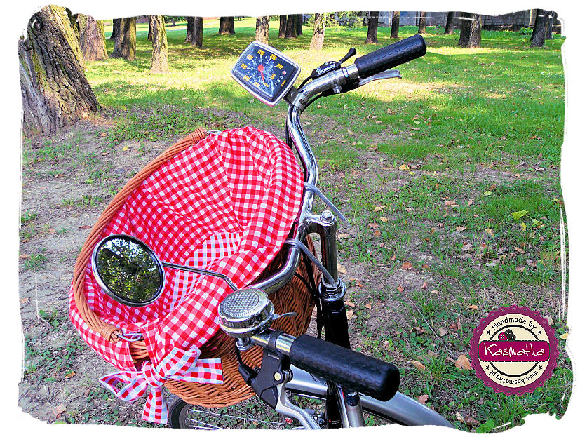 Koszyk rowerowy środek