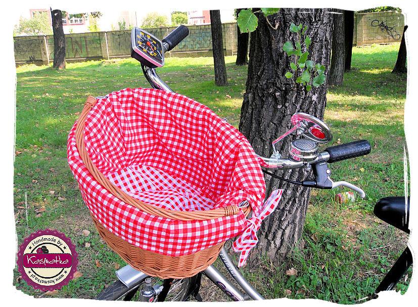 Koszyk rowerowy bok
