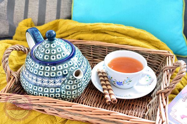 boleslawiec dzbanek do herbaty