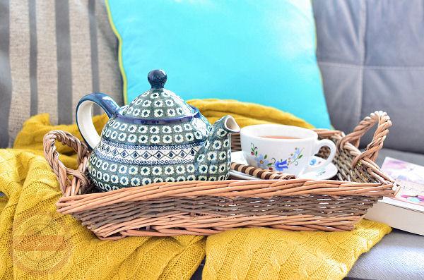 imbryk do herbaty boleslawiec