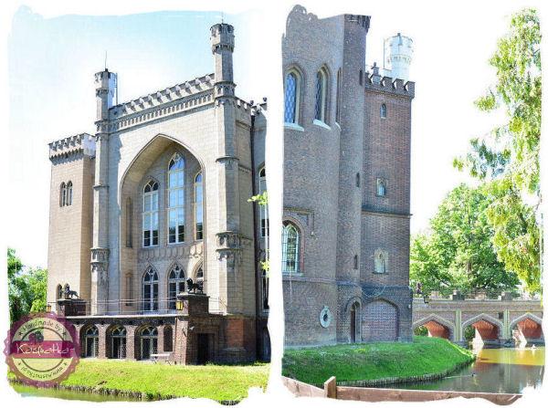 zamek w korniku widok wiezy