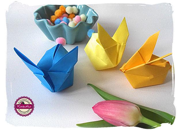 kroliczki z origami